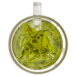 Organic Green Tea Top View